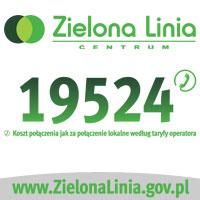 Baner http://zielonalinia.gov.pl/