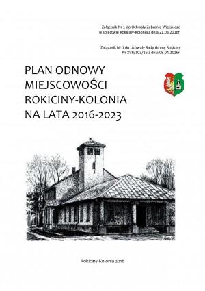 Plan Odnowy Miejscowości Rokiciny-Kolonia na lata 2016-2023
