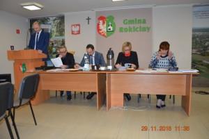 XXIV sesja Rady Gminy Rokiciny w dniu 29 listopada 2016 roku