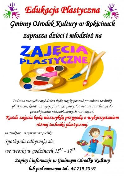 Edukacja Plastyczna w GOK