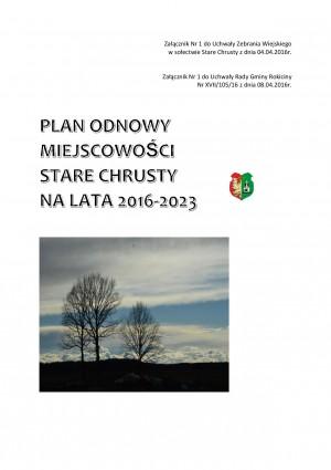 Plan Odnowy Miejscowości Stare Chrusty na lata 2016-2023