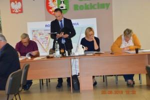 XLVII sesja Rady Gminy Rokiciny w dniu 25 czerwca 2018 r.