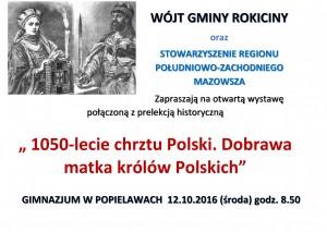 Zaproszenie na wystawę i prelekcję historyczną :)