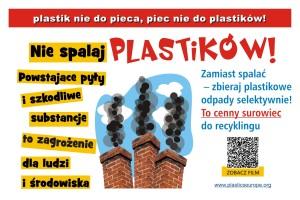 Kampania 'Plastik nie do pieca - piec nie do plastiku'