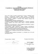 Umowa o współpracy międzynarodowej z Miastem Cimislija w Mołdawii