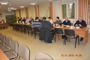 Sesja Rady Gminy w dniu 10 stycznia 2018 r.