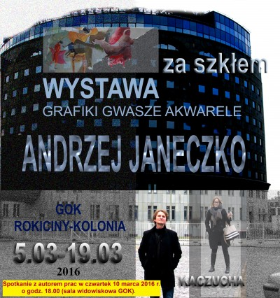 Spotkanie z Panem Andrzejem Janeczko 10 marca 2016 o godzinie 18.00 w GOK