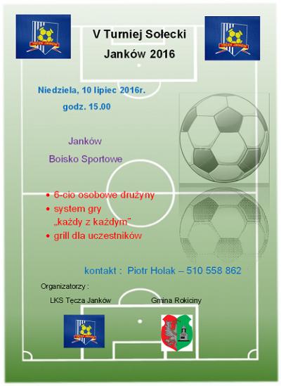 V Turniej Sołectw Janków 2016