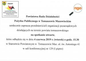 Powiatowa Rada Działalności Pożytku Publicznego w Tomaszowie Mazowieckim