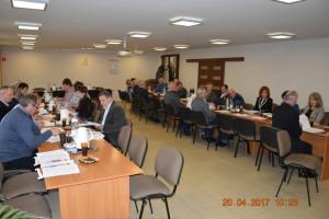 Sesja Rady Gminy Rokiciny w dniu 20 kwietnia 2017 r.