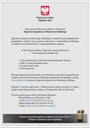 Nagroda Gospodarcza Wojewody Łódzkiego