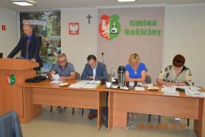 Sesja Rady Gminy Rokiciny w dniu 25 sierpnia 2016 r.