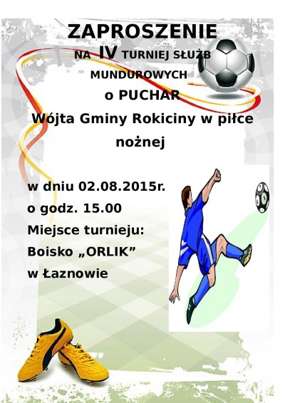 Turniej o Puchar Wójta Gminy Rokiciny