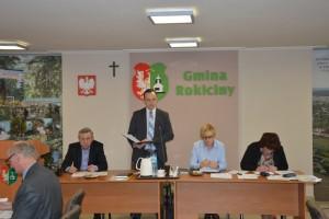 Sesja Rady Gminy Rokiciny w dniu 29 stycznia 2016 r.