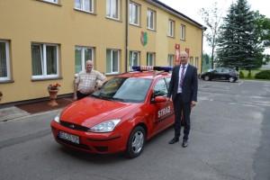 Nowy wóz dla OSP Łaznów