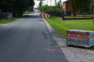Przebudowa drogi polegająca na budowie ciągu pieszo - rowerowego przy ul. Brzezińskiej w miejscowości Rokiciny-Kolonia - etap 2