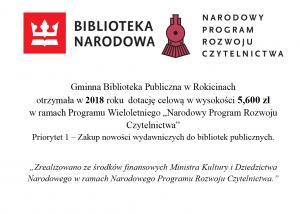 Dotacja dla Biblioteki