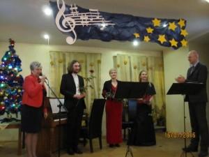 Koncert pt. Kolędy i Pieśni Bożonarodzeniowe z różnych krajów Europy