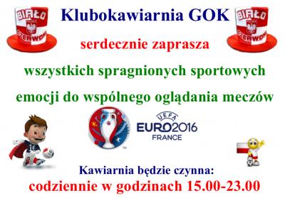 Euro 2016 w GOK