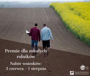 ARiMR Premie dla młodego rolnika