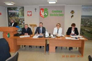 Sesja Rady Gminy Rokiciny w dniu 31 stycznia 2017 r.