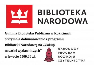 Dofinansowanie z Biblioteki Narodowej