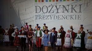 Promocja Gminy Rokiciny na Dożynkach Prezydenckich w Spale