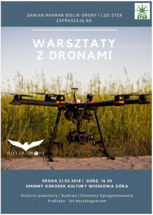 Warsztaty z dronami