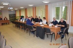 XXXVI nadzwyczajna sesja Rady Gminy Rokiciny w dniu 12 października 2017 r.